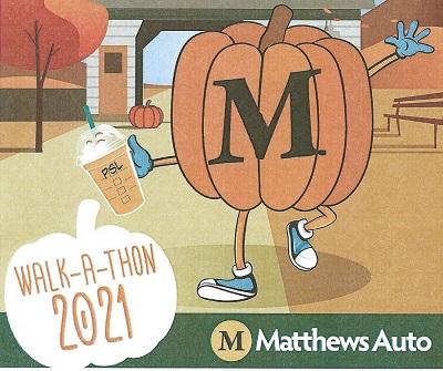 2021 MATTHEW'S AUTO WALK-A-THON
